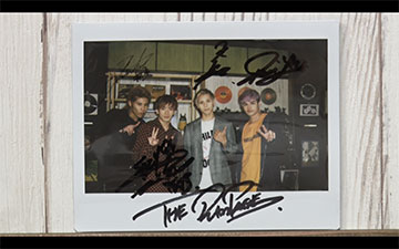 THE RAMPAGE from EXILE TRIBEサイン入り写真